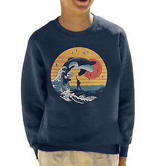 The Great Killer Whale Free Willy Kid's Sweatshirt