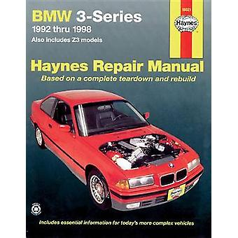 BMW 3-series Automotive Repair Manual - 1992 to 1998 (2nd Revised edit