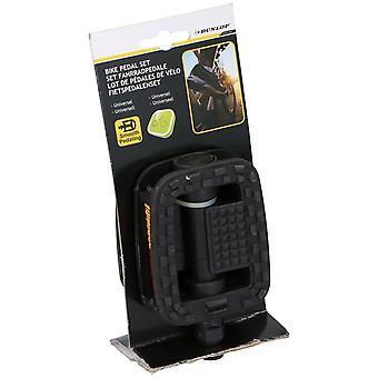 Dunlop bicicleta juego de pedal negro fuerte 9 por 16 pulgadas