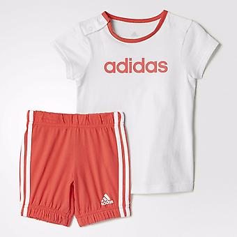 Adidas Infant Girls Summer Easy Set Tee and Shorts - BS2142