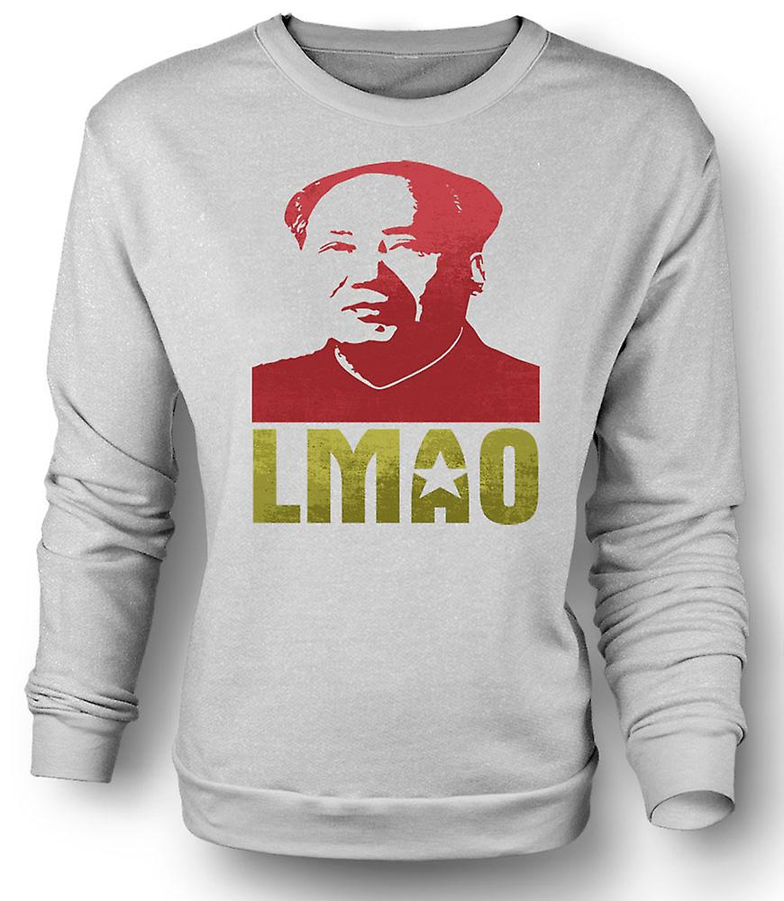 Mens Sweatshirt LMAO formann Mao - Funny