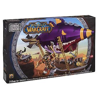 Mega Bloks World of Warcraft Goblin Zeppelin Ambush 310 stykker