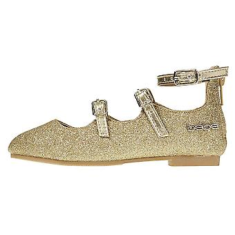 bebe Toddler Girls Ballet Flats Glittery avec Elastic Strap Mary Jane