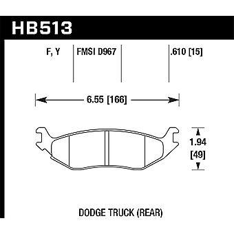 Hawk Performance HB513Y. 610 LTS