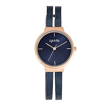 Sophie and Freda Sedona Bracelet Watch - Gold/Orange