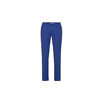 Brax Fabio-in Cotton Hi-flex Trouser Blue