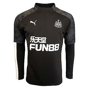 2019-2020 Newcastle Puma Training Fleece (Noir)
