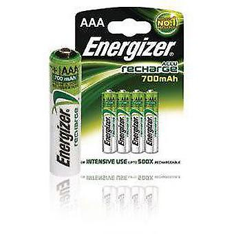 Energizer Recargables Nimh Power Plus 700 Mah Hr03 (4 uds)