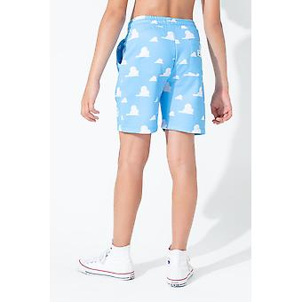 Hype Toy Story Blue Clouds Kids Shorts