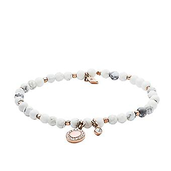Fossil Women's bracelet in stainless steel with Multicolored Beads