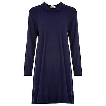 Louche Corrie Knitted Dress Navy