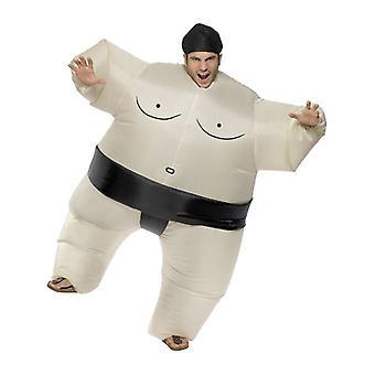 Mens giapponese di Sumo Wrestler Fancy Dress Costume