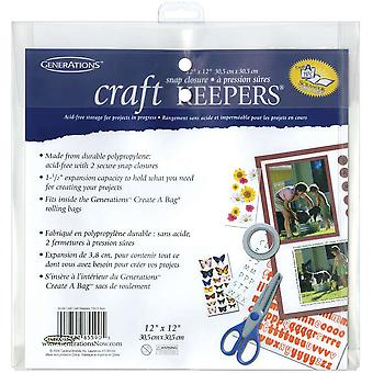 Craft Keepers Snap Closure Envelope Assorted Colors 12