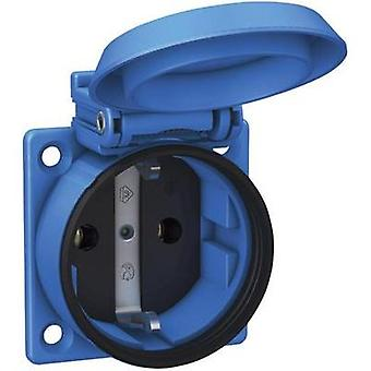 Flush-mount socket IP54 Blue ABL Sursum 1561050
