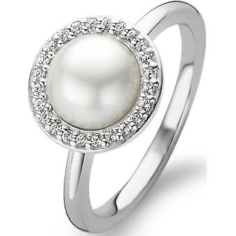 Bague Ti Sento 12014PW - Bague Blanche Strass Femme