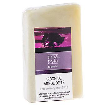 Amapola Bio Tea Tree Soap 100G
