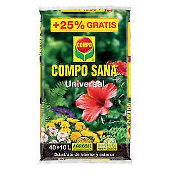 Compo 40 + 10l universal healthy (Garden , Gardening , Substratums and fertilizers)