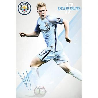 Manchester City Poster De Bruyne 10