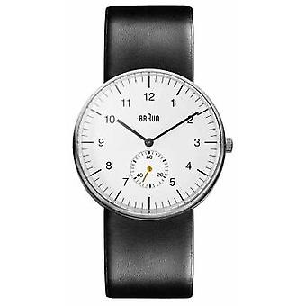 Braun Mens White Black BN0024WHBKG Watch