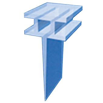Shower T-Shaped Rubber Channel Seal for Shower Screen or Door
