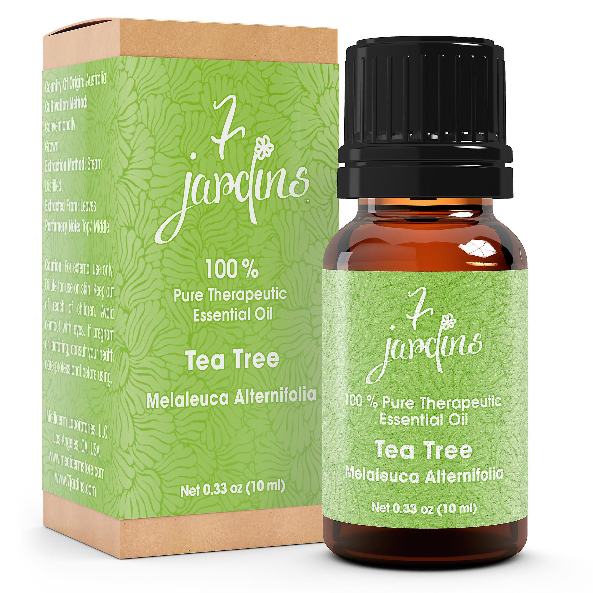 7 Jardins Skin Ailment Therapeutic Essential Oil ★100% Pure Tea Tree