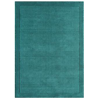 Davenport Teal Blue Wool Rug