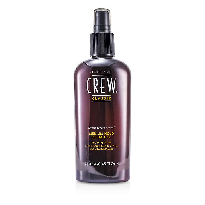 American Crew Men Medium Hold Spray Gel (Easy Styling Control) 250ml/8.45oz