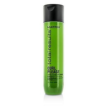 Matrix Total Results Curl Please Jojoba Oil Shampoo (For Nurturing Curls) - 300ml/10.1oz