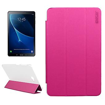 ENKAY smart cover Pink for Samsung Galaxy tab A 10.1 T580 / T585 2016 bag sleeve case