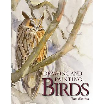 Drawing and Painting Birds (Paperback) by Wootton Tim
