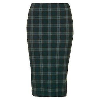 Black Watch Green Tartan Tube Skirt SK198-4