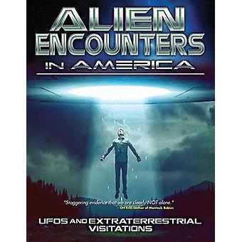 Fremmede møder Amerika: Ufoer & udenjordiske [DVD] USA importerer