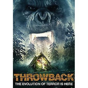 Throwback [DVD] USA import