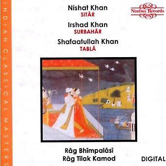 Khan, N/Khan, jeg / Khan, S - Rag Bhimpalasi/Tilak [CD] USA import