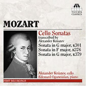 W.a. Mozart - Mozart: Cello sonater [CD] USA import