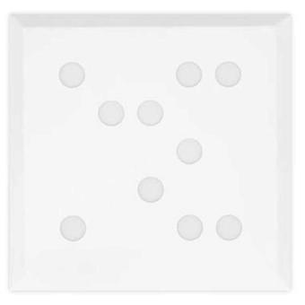 Leds C4 Plafón Wow 100xLed Samsung 29.2W Blanco Mate (Home , Lighting , Hanging lamps)