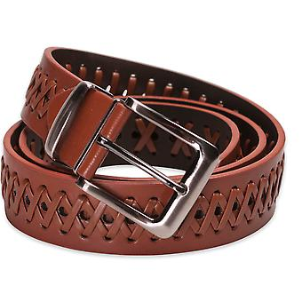 Hawkdale Mens Real Leather Belt 1.25