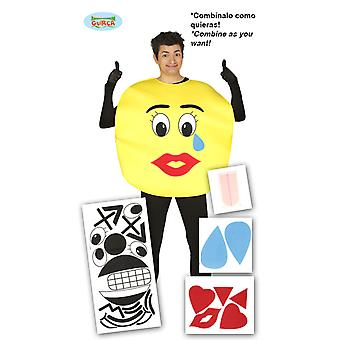 Smilie smiley costume Smiliekostüm emoticon mens costume one size