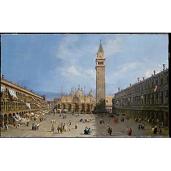 Canaletto - il Piazza San Marco Poster Print Giclee