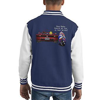 Sega hängen an Auslauf Kid Varsity Jacket