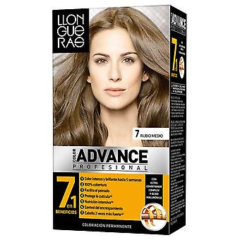 Llongueras Advance Hair Color Colour # 7-Medium Blond