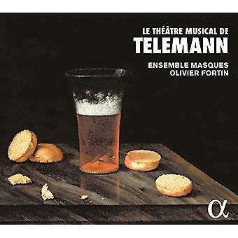 Telemann / Masques / Fortin - Telemann: Le Theatre musikalske De Telemann [CD] USA import