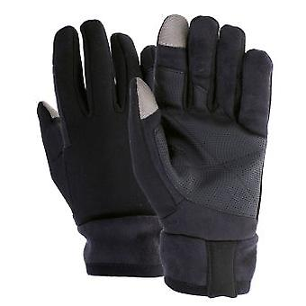 QHP Black Touch Gloves (Horses , Rider equipment , Accessories , Glothes)