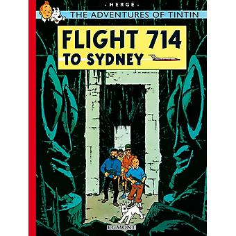Flight 714 to Sydney (The Adventures of Tintin) (Paperback) by Herge