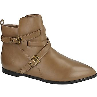 Spot On Womens/Ladies Casual Zip Up Ankle Boots