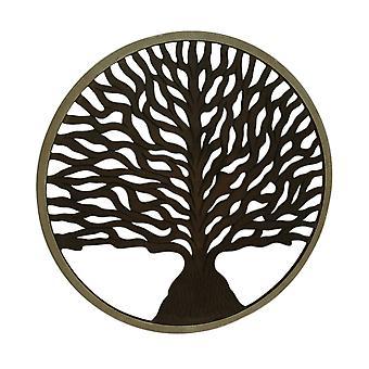 36 дюйма диаметр деревянные Древо жизни на стене