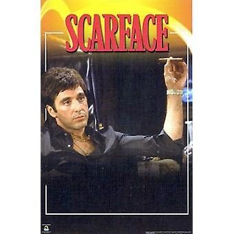 Scarface In Chair Poster Print (24 x 36)