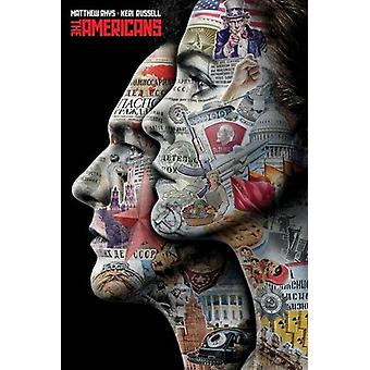 The Americans Profile Poster Poster Print