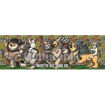 Where The Wild Things Are King Max Poster Poster afdrukken
