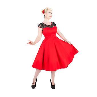 H&R Mesh Lace Swing Dress